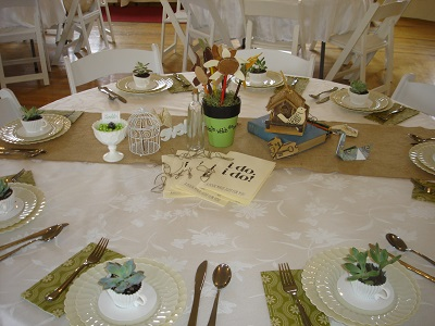 I do celebration table